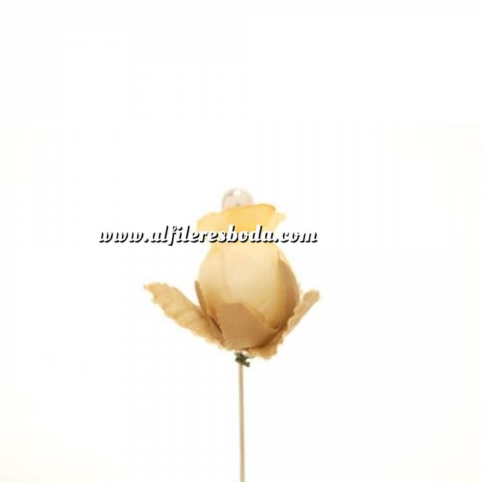Imagen Alfileres clásicos Alfiler clásico 11b (capullo envejecido AMARILLO)