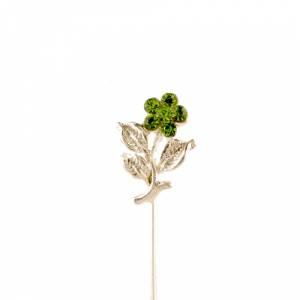 Alfileres especiales - Alfiler Especial 36 (flor tres hojas VERDE) (Últimas Unidades)