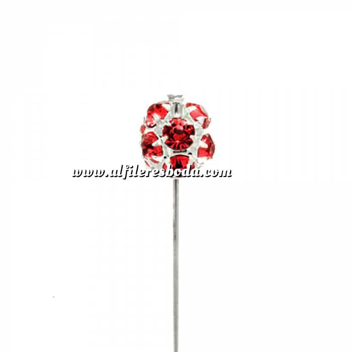 Imagen Alfileres especiales Alfiler especial 45 B (bola cristal rojo)