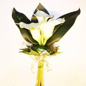 Complementos Alfileres - Bouquet Vara Calas Blancas para alfileres (Últimas Unidades)